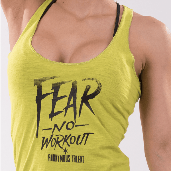 FEAR NO WORK OUT Tank Top