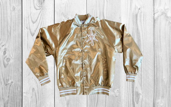Classic Satin Jacket GOLD