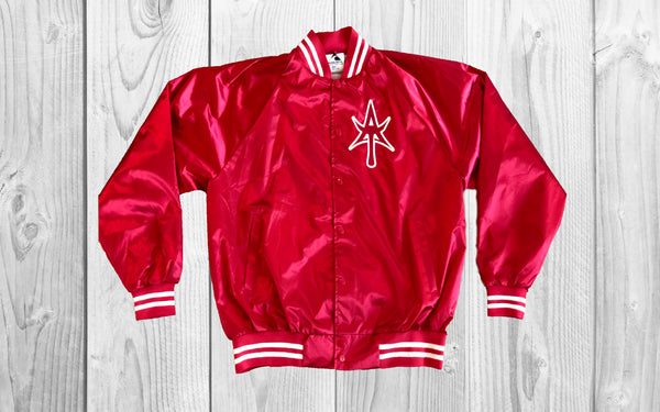 Classic Satin Jacket RED