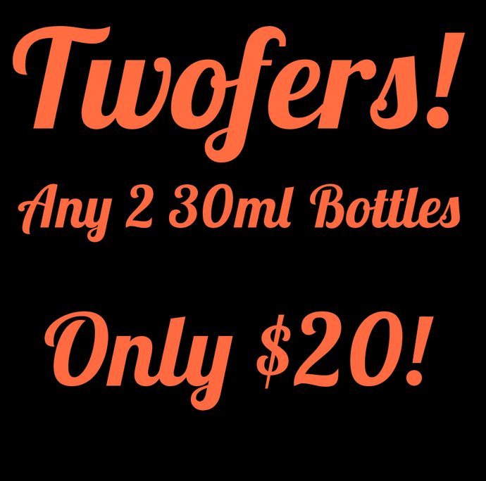 Twofers! (2x30ml)