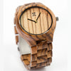 Wooden Watch | Zebra Minimal - Wooden Watches and Sunglasses - Joycoast
