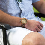 Wooden Watch | Zebra Max - Wooden Watches and Sunglasses - Joycoast