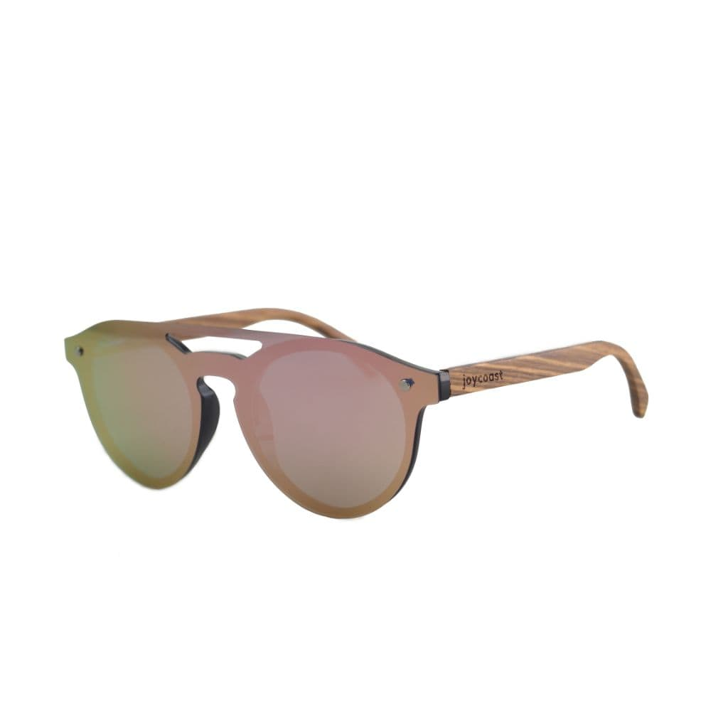 Ames // Walnut Frameless // Pink - Wooden Watches and Sunglasses - Joycoast