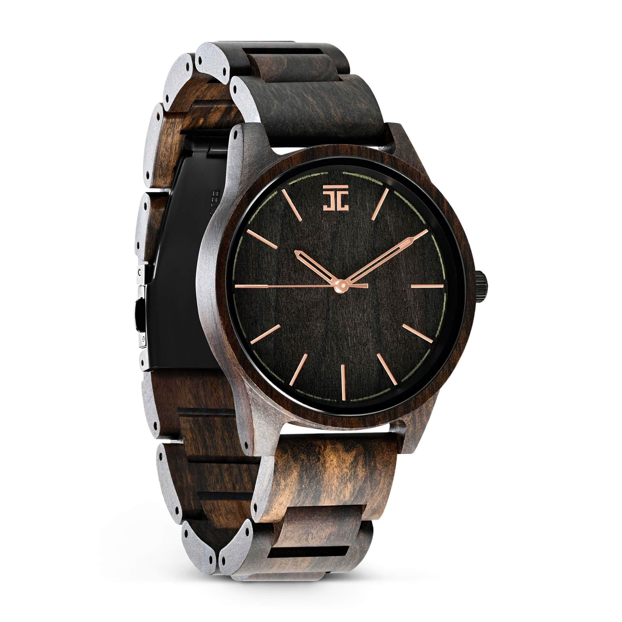 Chocolate Rose - Wooden Watches and Sunglasses - Joycoast
