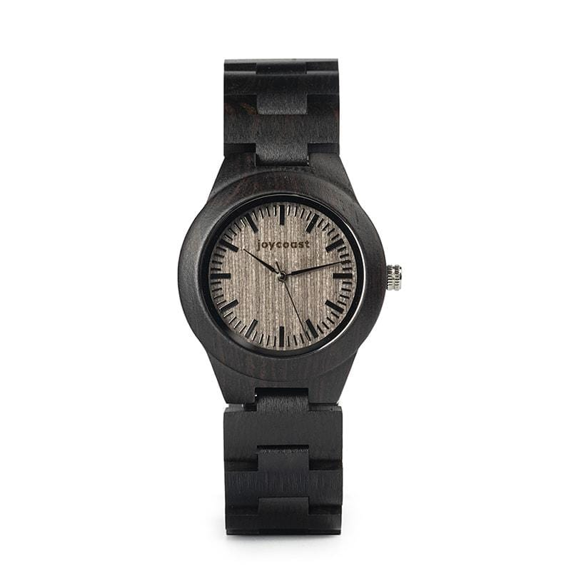 Women's Dark Sandalwood Wooden Watch | Pecan Sugar