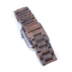 Dark Sandalwood Wooden Apple Watch Band - Wooden Watches and Sunglasses - Joycoast