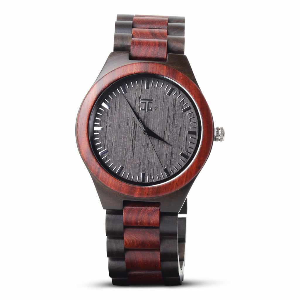 Red Sandalwood & Ebony - Wooden Watches and Sunglasses - Joycoast