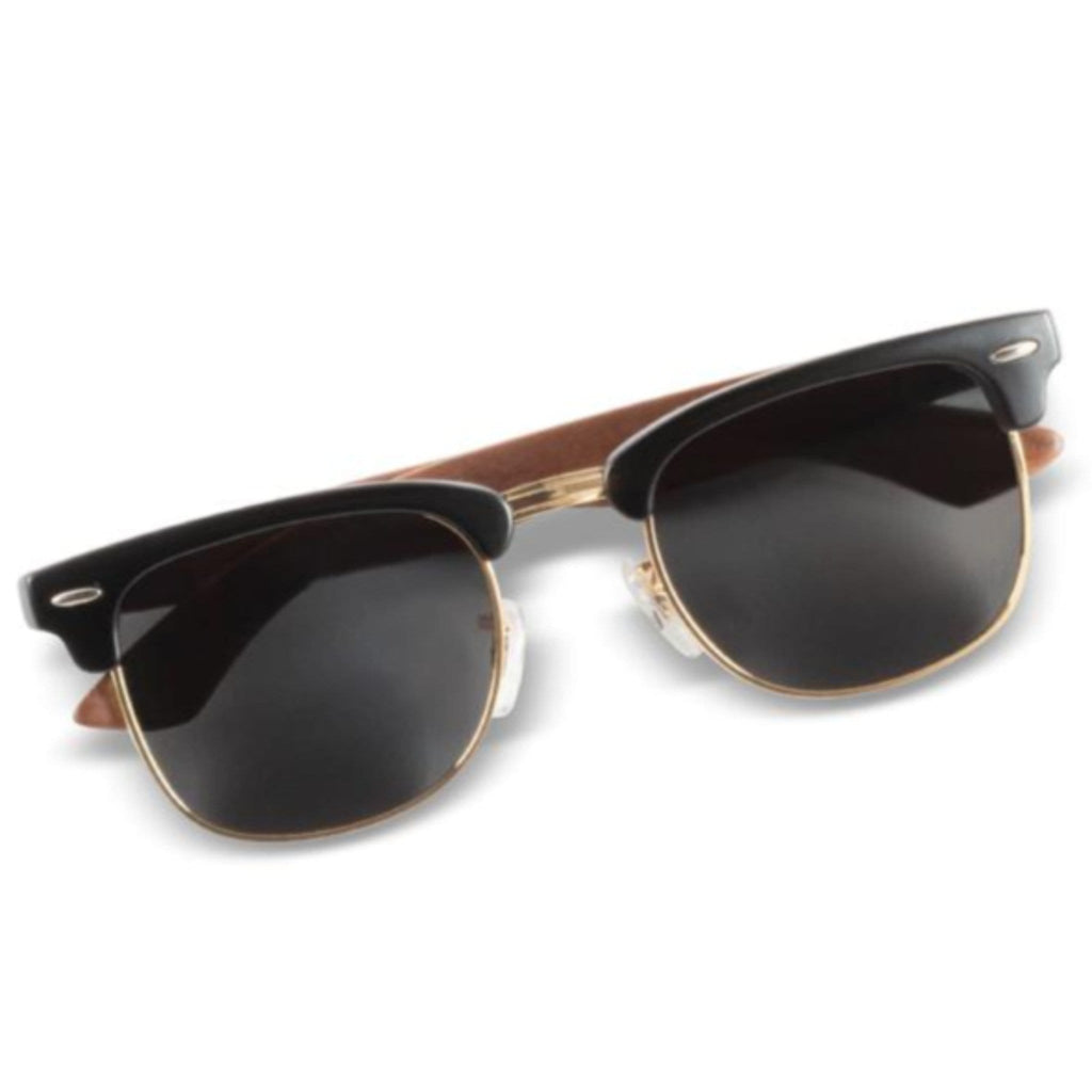 """Kennedy"" - Club-master Sunglasses - Wooden Watches and Sunglasses - Joycoast"