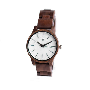 Cassidy | Walnut with Marble Face - Wooden Watches and Sunglasses - Joycoast