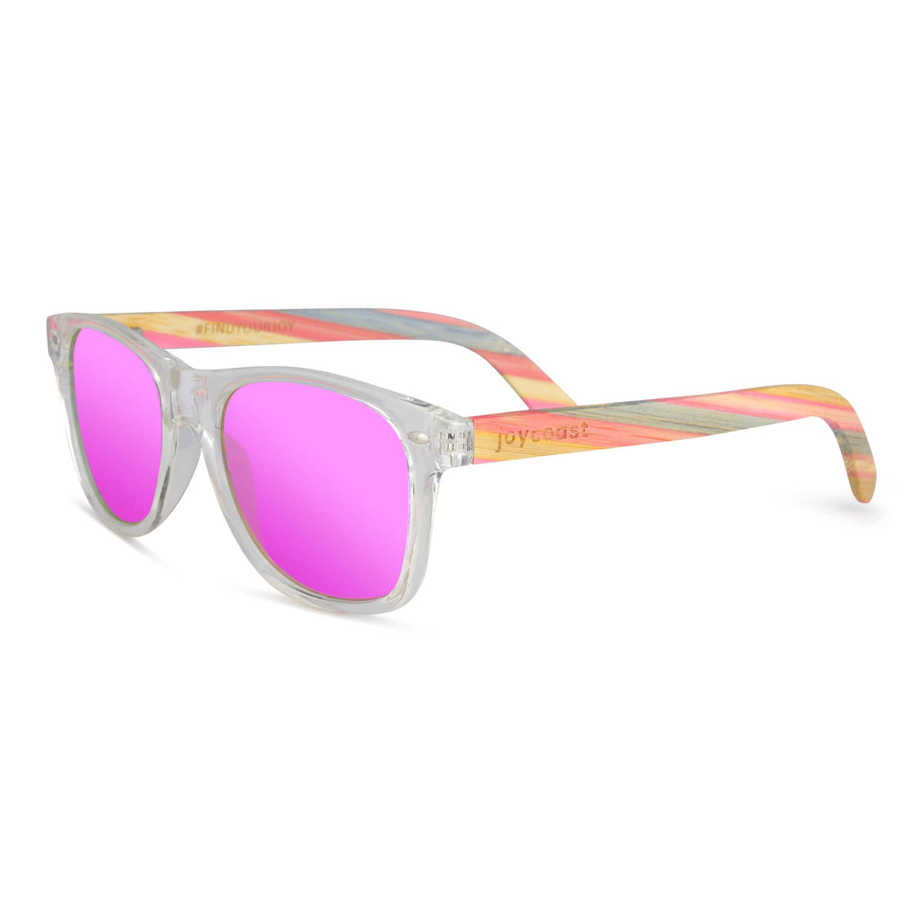 FruitLoops | Bamboo Sunglasses - Wooden Watches and Sunglasses - Joycoast