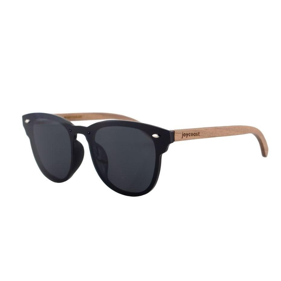 Walnut Wooden Sunglasses // Frameless Grey