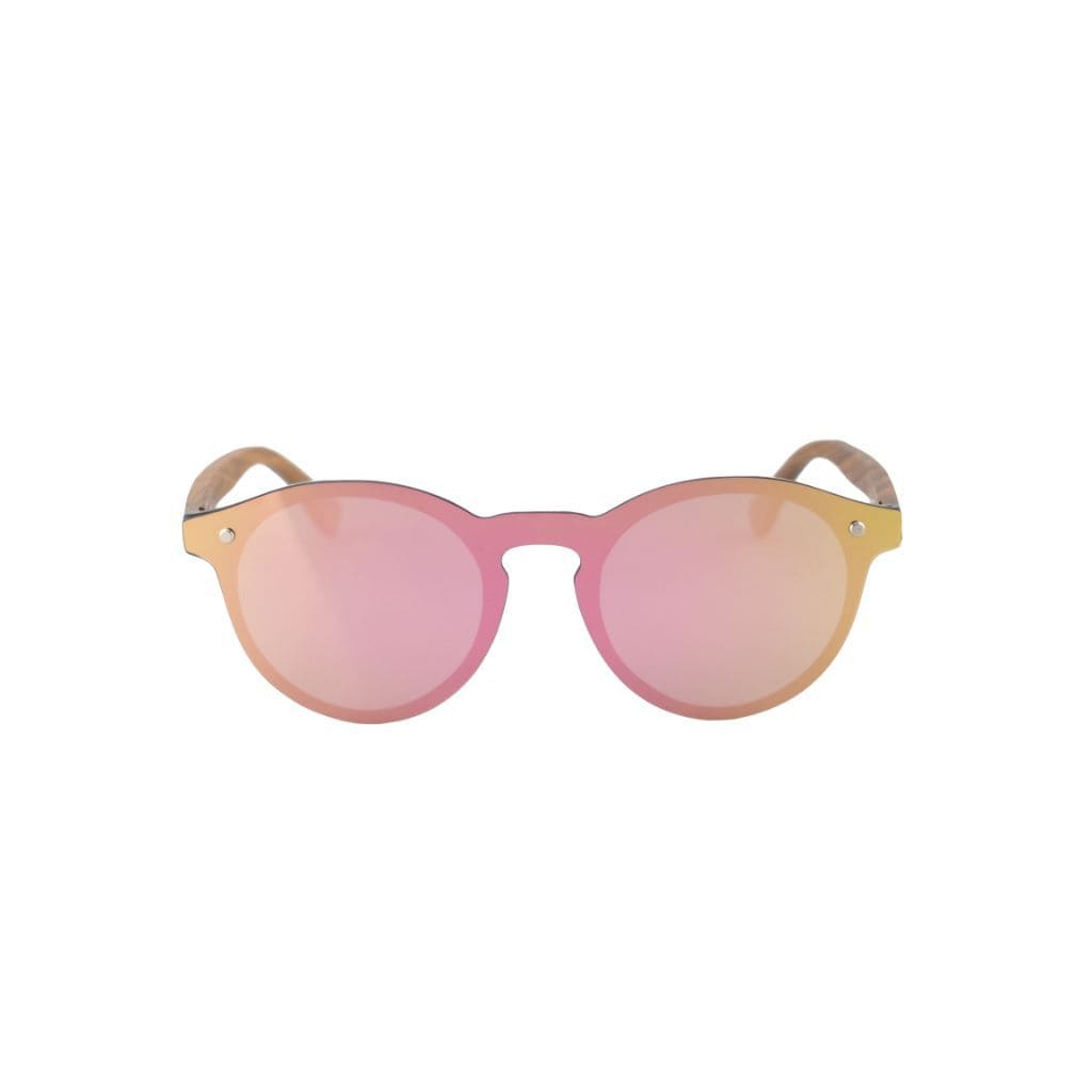 Winnie (Pink Reflective) - Wooden Watches and Sunglasses - Joycoast
