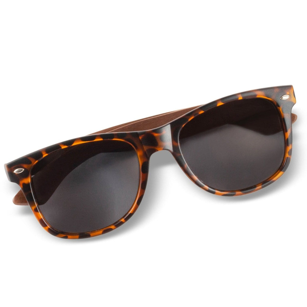 Leonardo - Matte Tortoise & Walnut Sunglasses - Wooden Watches and Sunglasses - Joycoast