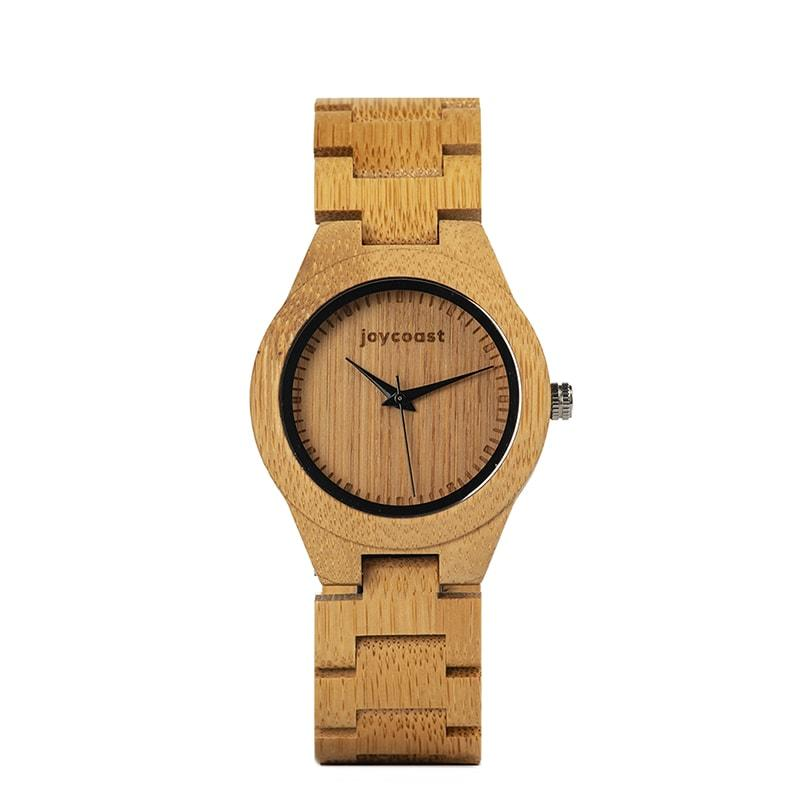 Women's Bamboo Wooden Watch | Bambusa - Wooden Watches and Sunglasses - Joycoast