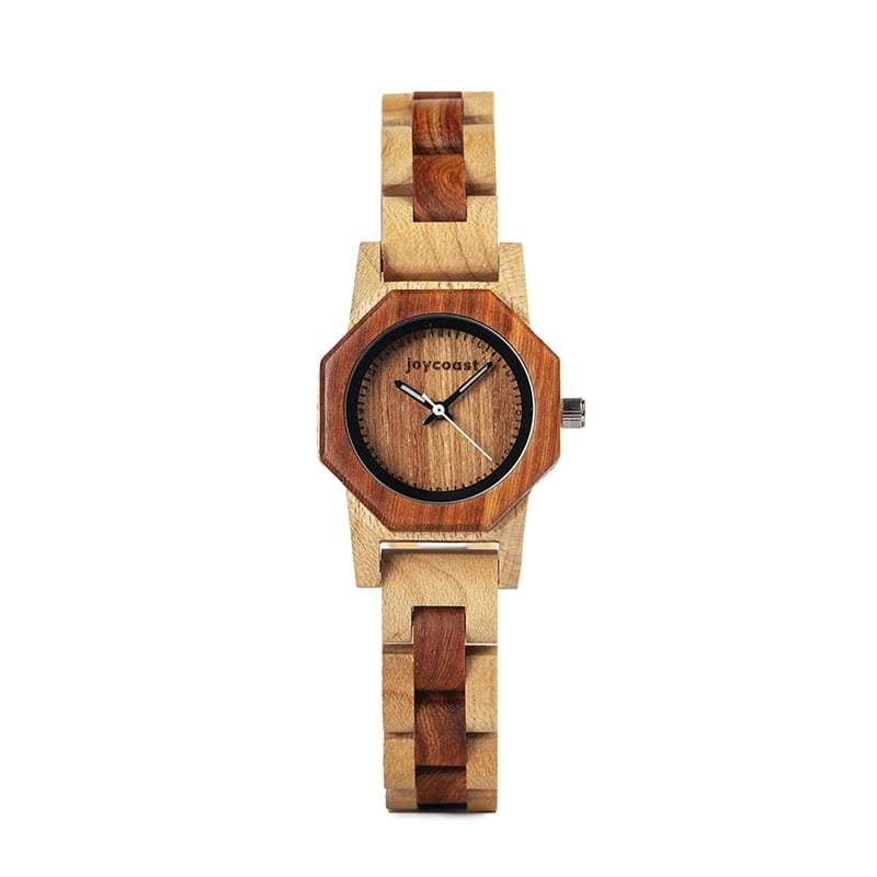 Women's Bamboo + Red Sandalwood Watch | Bamboo Fox - Wooden Watches and Sunglasses - Joycoast