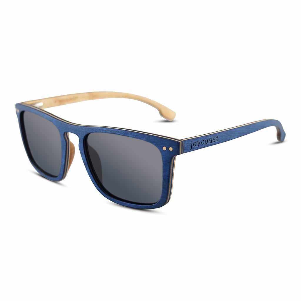 Blu Wood Sunglasses - Joycoast