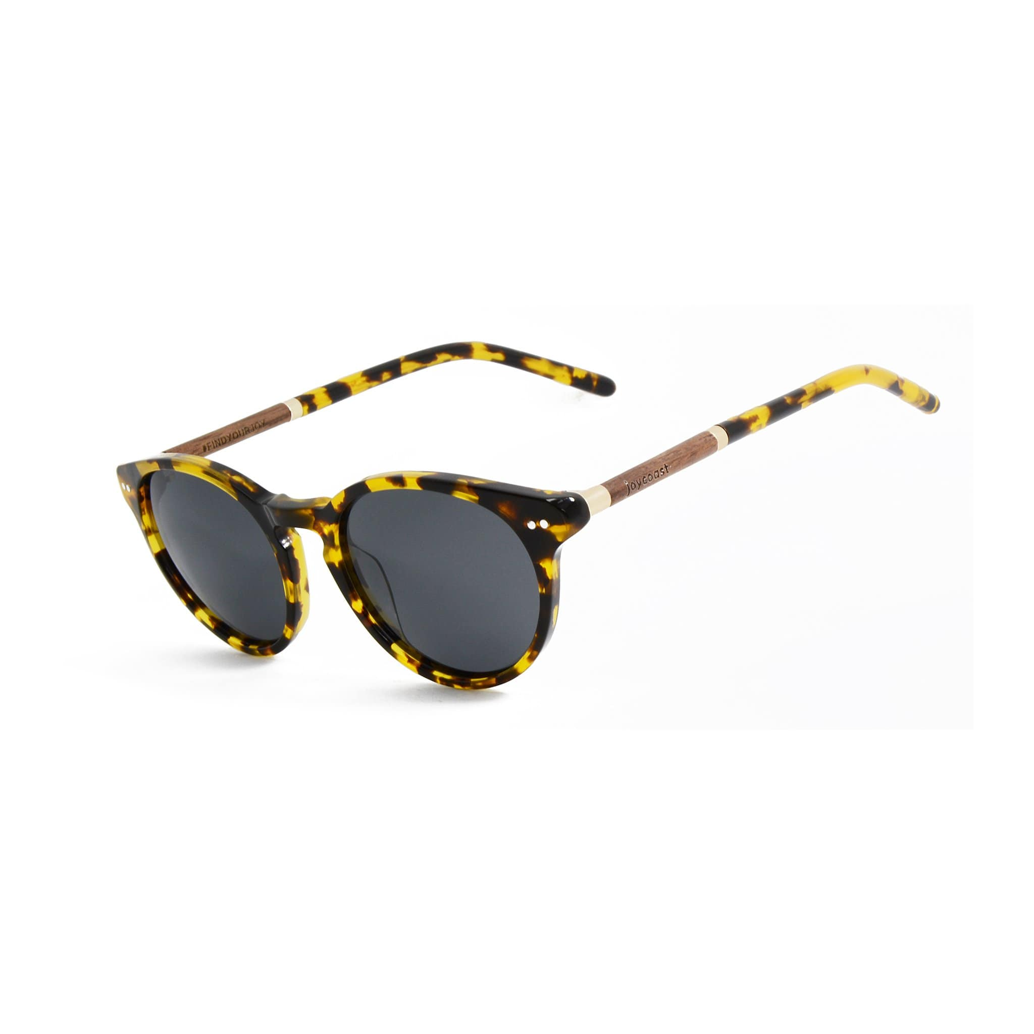 Walnut Misty Wooden Sunglasses - Wooden Watches and Sunglasses - Joycoast
