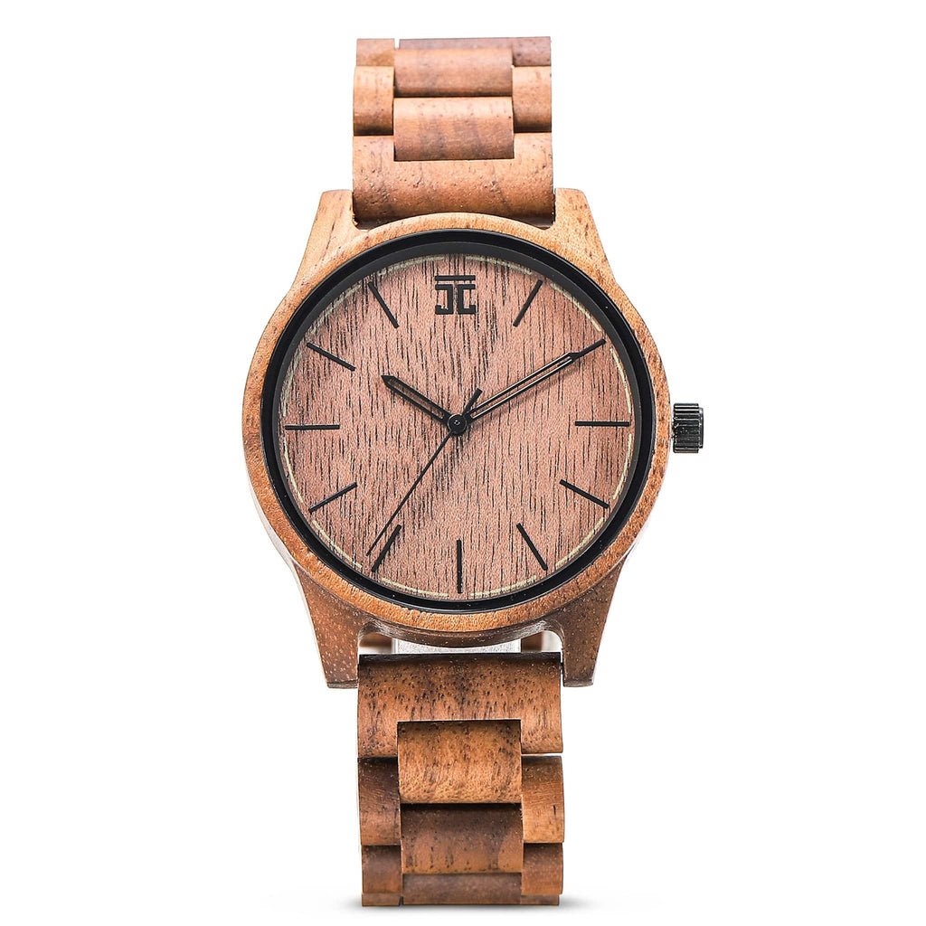 American Walnut Wooden Watch - Wooden Watches and Sunglasses - Joycoast