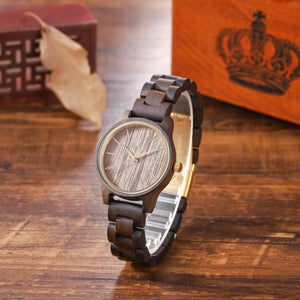 Adler | Dark Sandalwood & Walnut - Wooden Watches and Sunglasses - Joycoast