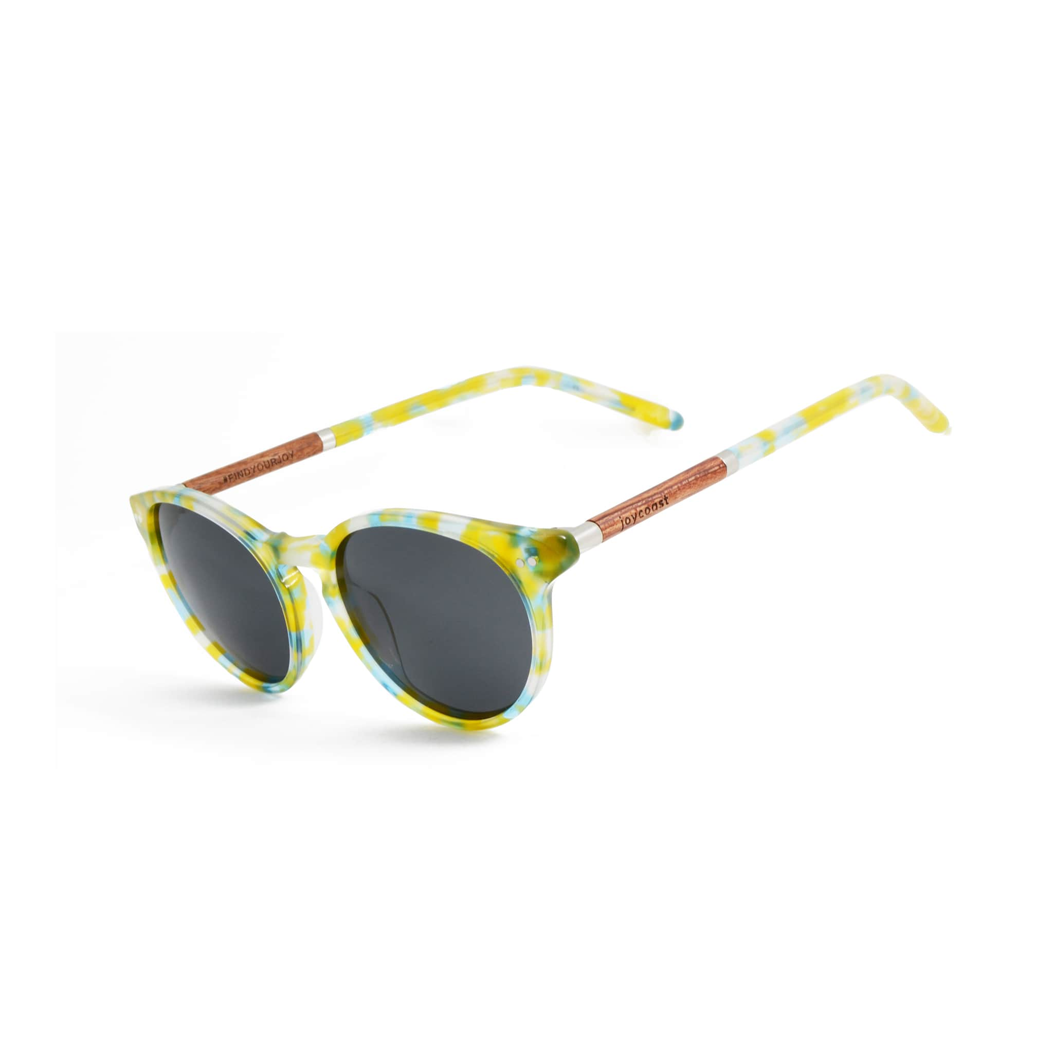 Rosewood Daisy Wooden Sunglasses - Wooden Watches and Sunglasses - Joycoast