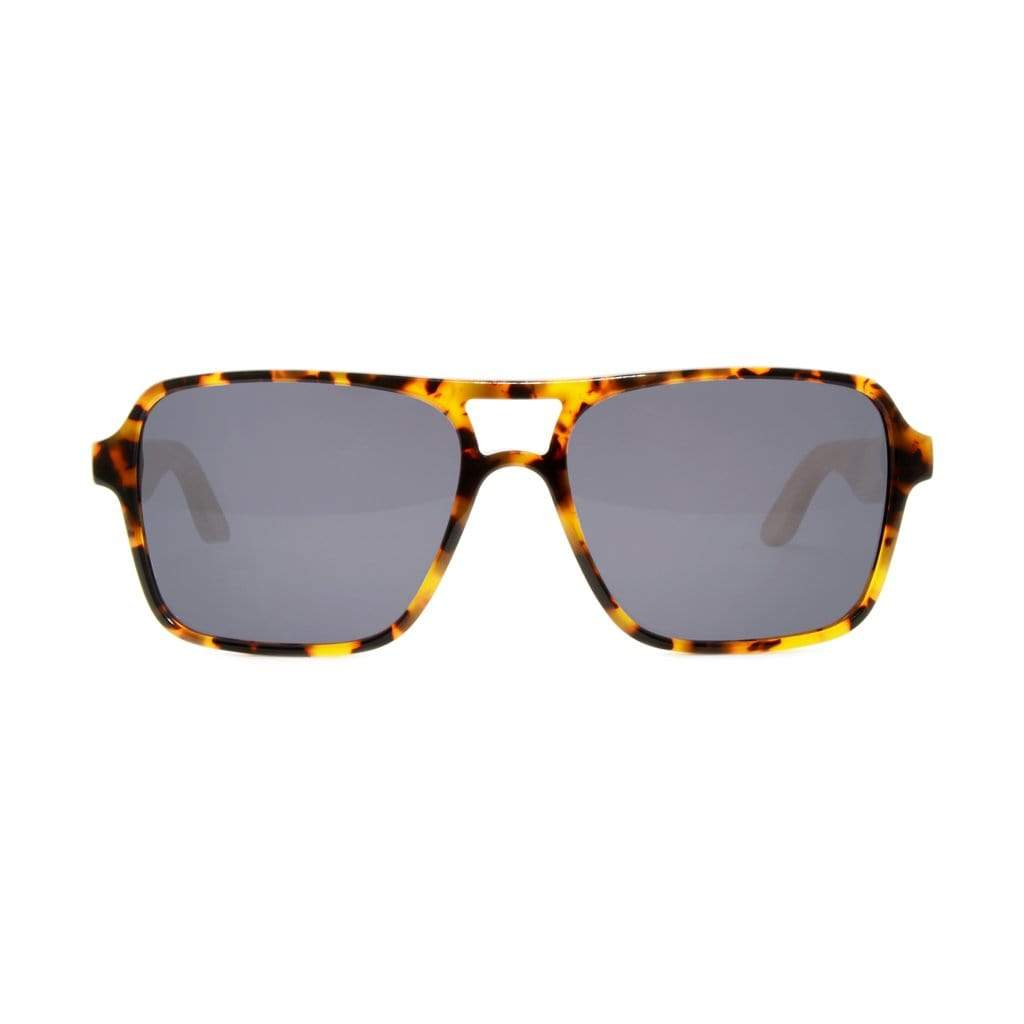 Bamboo Tortoise Wooden Sunglasses - Wooden Watches and Sunglasses - Joycoast