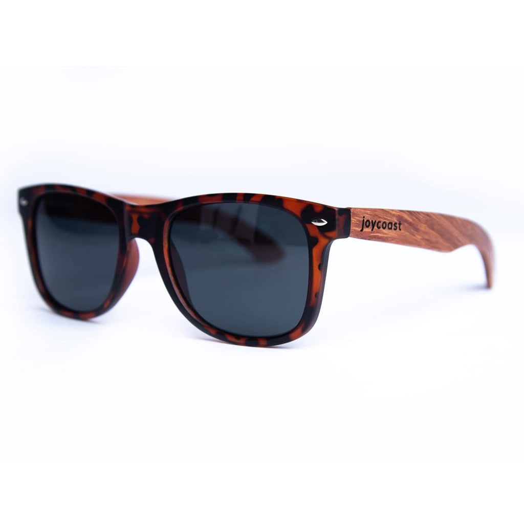 Dakota - Tortoise & Bubinga Sunglasses - Joycoast