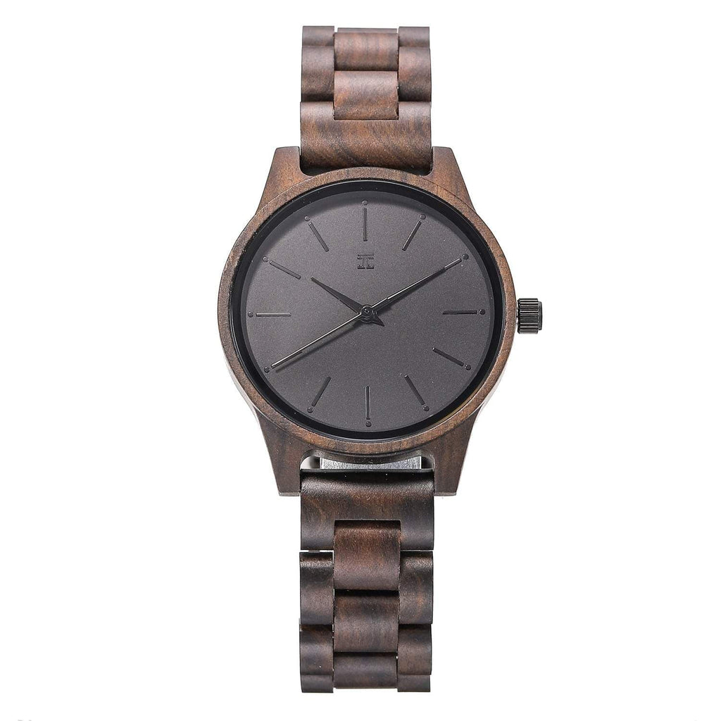 Darkmode | Dark Sandalwood Watch - Wooden Watches and Sunglasses - Joycoast