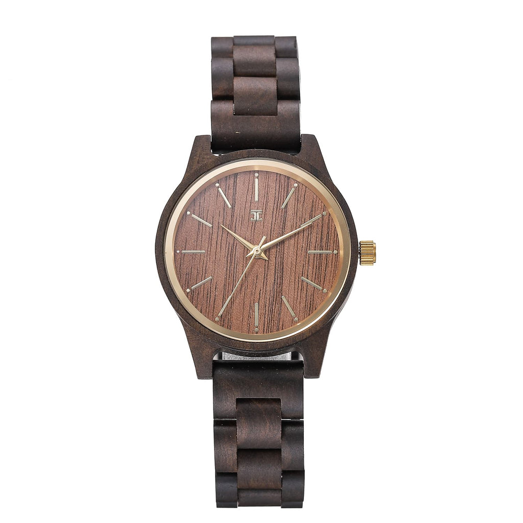 Neutral | Dark Sandalwood & Walnut - Wooden Watches and Sunglasses - Joycoast
