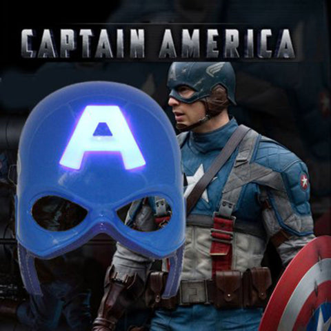 LED Captain America Mask