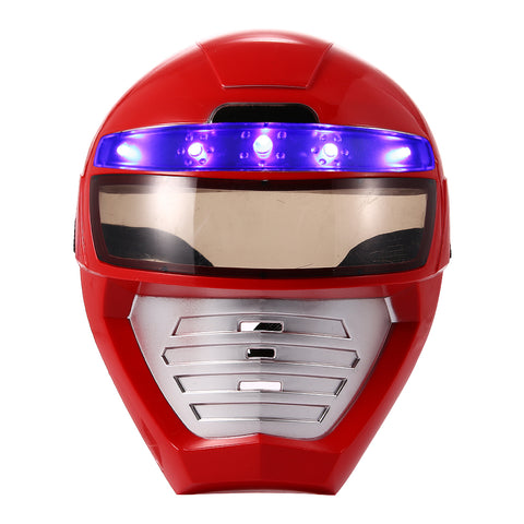 LED Red Power Ranger Mask