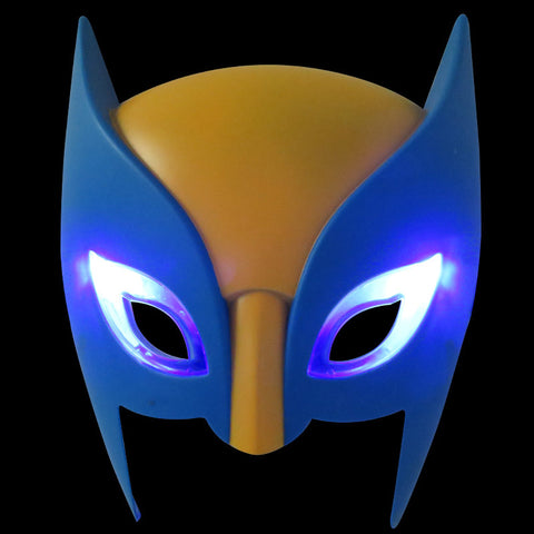 LED Wolverine Mask