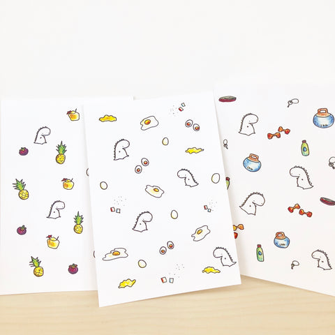 Tinee Pattern Postcards [Set Of 3]