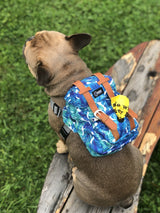 LIMITED EDITION BARK INDUSTRY HAWAIIAN POLU BLUE BACKPACK