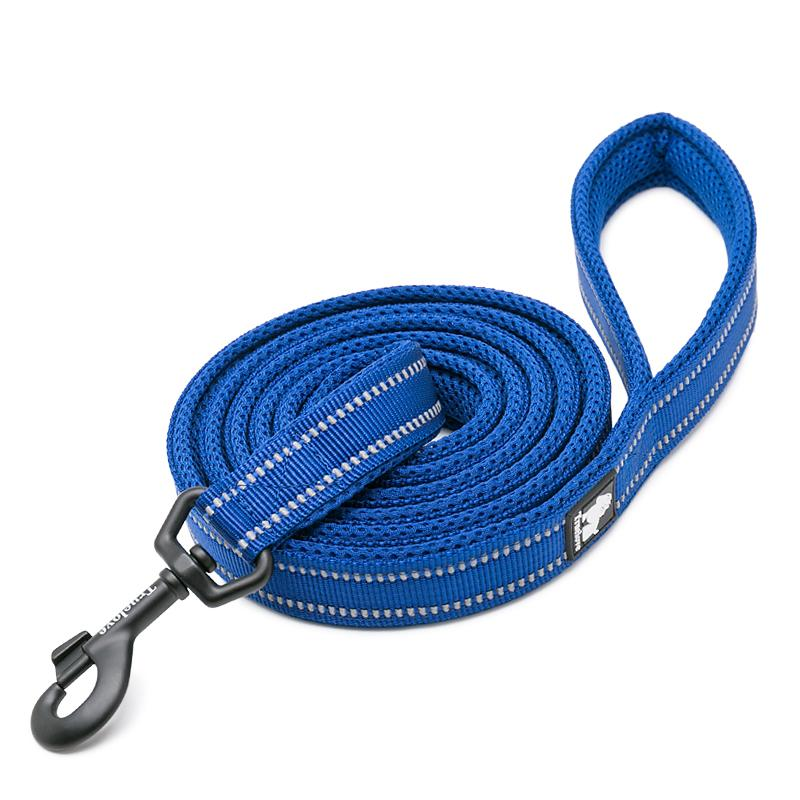 ROYAL BLUE - REFLECTIVE LEASH