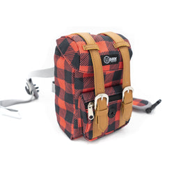 **PRE-ORDER ONLY** LIMITED EDITION BARK INDUSTRY BUFFALO PLAID BACKPACK