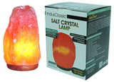 IndusClassic® LN-09 Natural Himalayan Crystal Rock Salt Lamp Ionizer Air Purifier  20~25 lbs With Dimmable Control