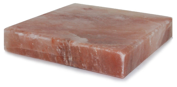 IndusClassic® SSP-05 Himalayan Salt Block, Plate, Slab for Cooking, Grilling, Seasoning, And Serving (8 X 8 X 1.5)