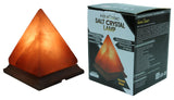 Indusclassic® LG-01 Pyramid Himalayan Crystal Rock Salt Lamp Ionizer Air Purifier With Dimmable Control