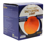 Indusclassic® LG-03 Globe Himalayan Crystal Rock Salt Lamp Ionizer Air Purifier With Dimmable Control