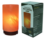 IndusClassic® LG-05 Cylinder Himalayan Crystal Rock Salt Lamp Ionizer Air Purifier With Dimmable Control
