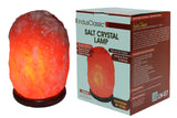 IndusClassic® LN-07 Natural Himalayan Crystal Rock Salt Lamp Ionizer Air Purifier 10~13 lbs With Dimmable Control