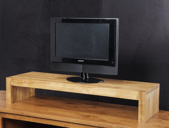 Modern Tv Riser Stands Rustic Style Solid Wood Made In The Usa Rustic Furniture Jdi Home