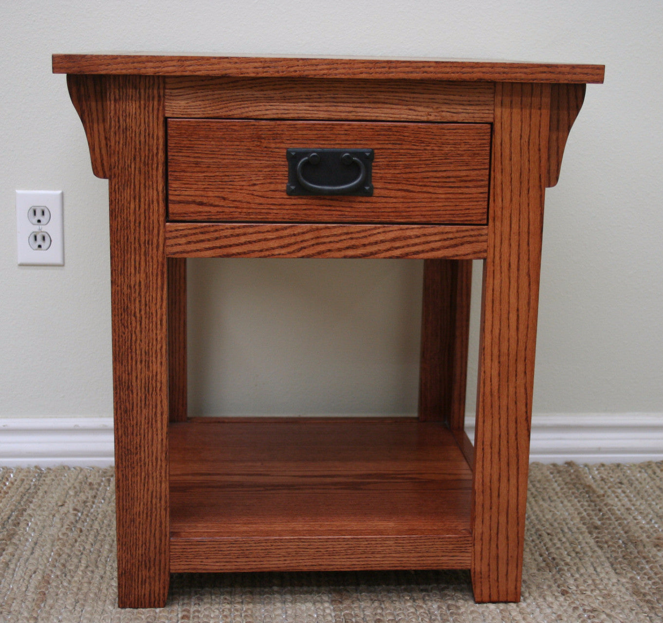... End Table American Mission Oak   JDi Home ...