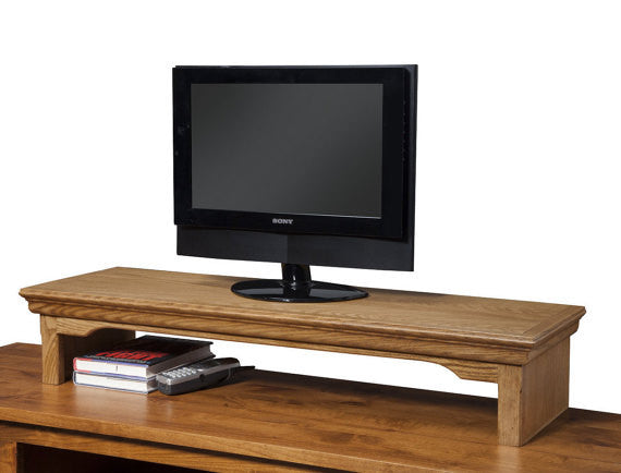 Led Lcd Tv Riser Stands Traditional Oak Free Shipping Jdi Home