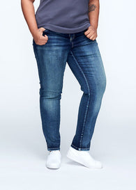 Seine Jeans - Distressed Blue 27 Inch