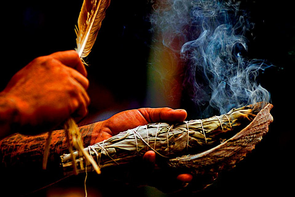 The Ancient Art of White Sage and Herb Smudging