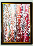 Original framed Artwork by KazArt Creations - Trees of Crimson