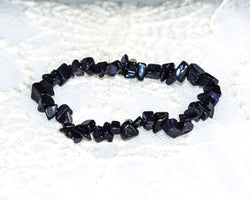 Crystal Chip Bracelet GOLDSTONE BLUE