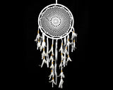 Dream Catcher Crochet X Large 33cms - WHITE