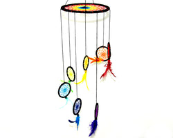 Mobile - Dream Catcher Rainbow Small Size